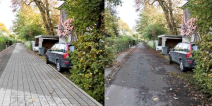 New, permeable road surfacing in Frederiksberg instead of expensive drain pipes